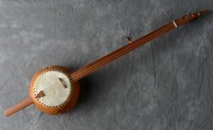 Pete Ross gourd banjo